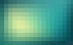Картинка Минимализм, пиксели, гардиент