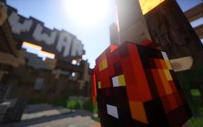 Картинка макро, персонаж, Minecraft