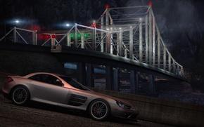 Картинка City, Need for speed world, Mercedes Mclaren 722