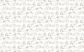 Картинка кошка, фон, текстура, арт, детская, кошечка