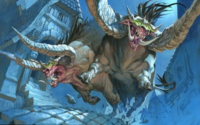 Картинка Magic: The Gathering, Jesper Ejsing, Tooth and Nails