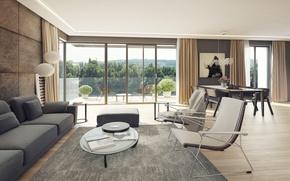 Картинка villa, luxury, living space