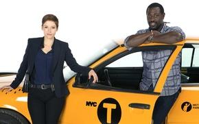 Картинка взгляд, фон, Сериал, актеры, Фильмы, Taxi Brooklyn, Такси Южный Бруклин