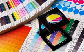 Картинка colors, template, printing works