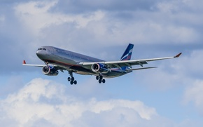 Картинка Airbus, A330, Aeroflot, 343X, Russian Airlines, VP-BDE