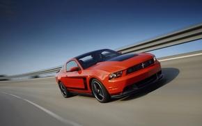 Обои Mustang, Ford, 2012, 302, Boss