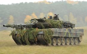 Картинка оружие, танк, Leopard