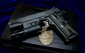 Картинка пистолет, оружие, 1911, Springfield, cal.45