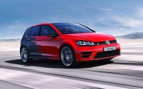 Обои Volkswagen, Concept, фольксваген, Golf R, гольф