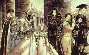 Картинка trinity blood, avel, vampiry