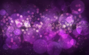 Картинка фиолетовый, абстракция, боке