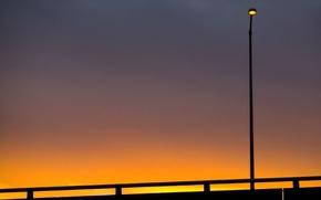 Картинка небо, фонарь