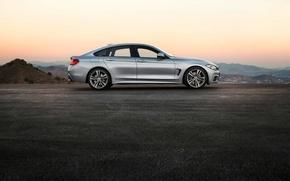 Картинка вечер, BMW, Gran Coupe, 2014, 4 Series