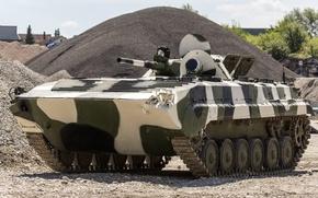 Обои гусеничная, машина, БМП-1, советская, плавающая, первая, боевая, серийная, бронированная