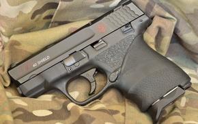 Картинка пистолет, оружие, фон, Shield .40