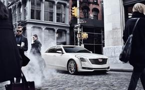 Картинка Cadillac, cars, 2016, CT6, Cadillac CT6 2016, Cadillac cars, Cadillac 2016