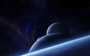 Обои звезды, планеты, атмосфера