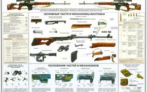 Обои плакат, снайперская, винтовка
