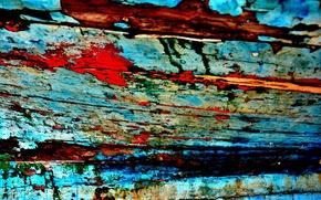 Картинка дерево, краска, цвет, текстура