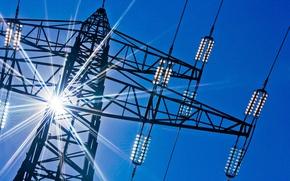 Картинка провода, ЛЭП, energy, напряжение, translation, services