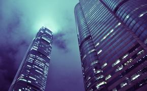 Картинка здания, дома, небоскребы, Hong Kong, tower building