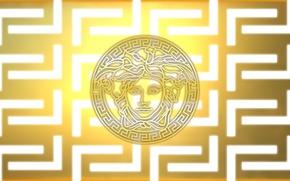 Картинка логотип, бренд, brend, cold, Versace