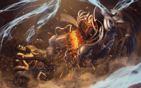 Картинка орк, Diablo, Thrall, Diablo III: Reaper of Souls, Angel of Death, Malthael, Heroes of the ...