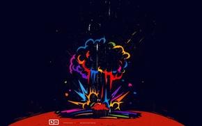 Картинка взрыв, планета, бомба