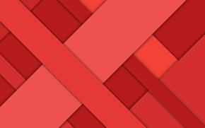 Картинка линии, красный, геометрия, material