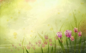 Картинка Цветы, вектор