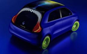 Обои Renault, TwinZ, concept