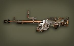 Картинка оружие, ДШК, 12.7x108 мм., Дегтярёва — Шпагина образца 1938 года, Станковый крупнокалиберный пулемет