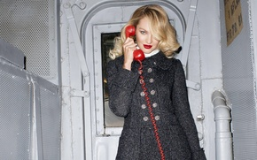 Картинка поза, модель, блондинка, Кэндис Свейнпол, Candice Swanepoel