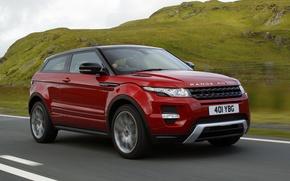 Картинка дорога, авто, Land Rover, Range Rover, Evoque