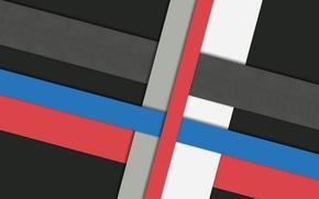 Картинка белый, линии, синий, красный, серый, черный, design, color, material