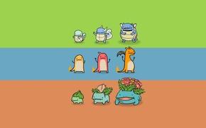 Картинка покемон, pokemon, bulbasaur, squirtle, сквиртл, чармандер, charmander, charizard, venusaur, чаризард, wartortle, blastoise, чармилион, бульбасавр, бластойс, …