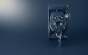 Обои camera, golden age, old times, old camera