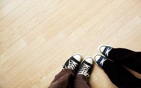 Обои classic, floor, pants, cloth slippers