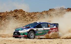 Картинка Ford, Авто, Скорость, Форд, Гонка, Car, WRC, Rally, Fiesta