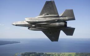 Картинка оружие, самолёт, F-35B