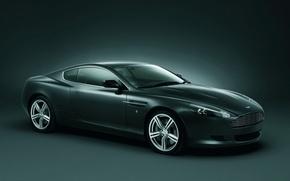 Обои Aston Martin, DB9, графит