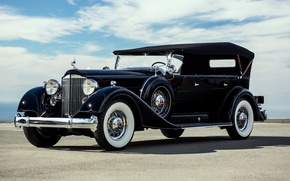 Картинка классика, Touring, Twelve, Packard, 1934, 7-passenger, пакард