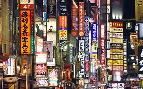 Обои Shinjuku, Japan, Tokyo