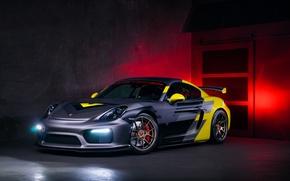 Картинка Vorsteiner, tuning, cayman, Porsche GT4