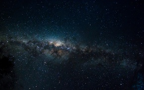 Картинка звезды, пространство, тайна, Млечный Путь, бесконечность