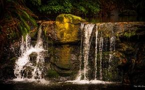 Картинка водопад, Канада, Ванкувер, Vancouver, Stanely Park