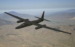 Картинка полет, разведчик, стратегический, высотный, Lockheed U-2, «Dragon Lady»