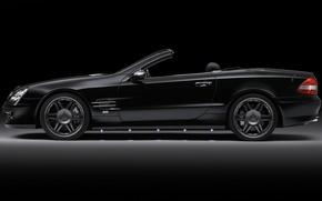 Картинка Mercedes-Benz, black, sl65