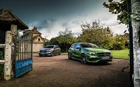 Картинка Mercedes-Benz, мерседес, AMG, амг, W176, A-Class