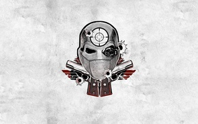 Картинка Will Smith, Deadshot, Floyd Lawton, Suicide Squad, DCEU